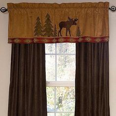 Cabin Place offers Rustic Curtains, Cabin Window Treatments, & Lodge Valances at discount cabin decor prices. Our large Rustic Curtains, Cabin Window Treatments, & Lodge Valances inventory has everything you need for your cabin. Cabin Curtains, Cute Curtains, Rustic Curtains, Kitchen Curtains, Log Cabin Furniture, Rustic Wood Furniture, Western Furniture, Furniture Design, Lodge Look