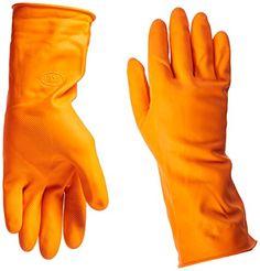 Boss Gloves 4708L Large 12Inch Orange Latex Lined Gloves * For more information, visit image link.
