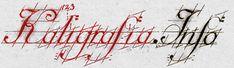 aligrafia (grec. kalos = piękny, grafo = piszę) według encyklopedii powszechnej definiowana jest jako sztuka starannego i estetycznego pisania. Piękne kaligraficzne pismo powinno charakteryzować się: prostotą, czytelnością, równością i czystością wykonania