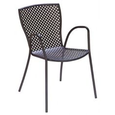 Steel Frame International Series Features   Available in: Anthracite, Bronze, or Silver finish Chairs are sturdy, rustproof and corrosion resistant Manufactured with industrial-grade steel Pre-treated with zinc galvanization, which guarantees against corrosion for contract use for 1 year Finished with a polyester powder-coating which is extremely resistant and will remain bright for many years Mesh design is punched, rather than stretched, making the seat solid and smooth Optional fade- and…