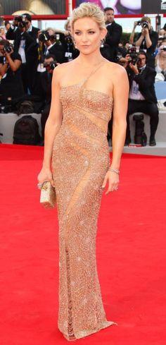 Actor Kate Hudson. Venice.