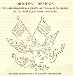Patriotic Embroidery Patterns   If I Had My Own Blue Box: