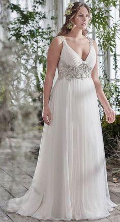 5f73c2d9d99b6 Featured Dress  Maggie Sottero  Wedding dress idea. Wedding Dresses Plus  Size