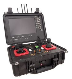 UAV Ground-Station with Full-HD real time reception and monitor for easy use everywhere with a ruggedized case Latest Drone, New Drone, Drone Technology, Cool Technology, Futuristic Technology, Medical Technology, Energy Technology, Gadgets And Gizmos, Tech Gadgets
