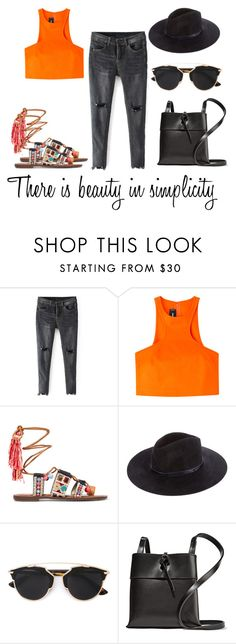 """""""There is beauty .."""" by alex-hllnz ❤ liked on Polyvore featuring Dsquared2, Sam Edelman, rag & bone, Christian Dior and Kara"""