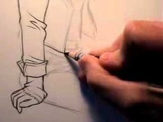 How to draw clothes.