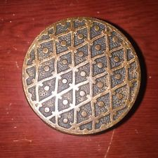 Antique  Kenton Collectible Eastlake Brass Doorknob  Hardware