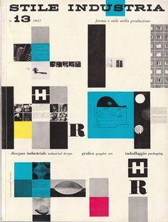 Stile Industria n. 13 1957 via The Casual Optimist