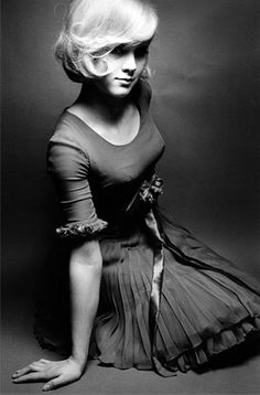 Jean Loup Sieff - Lack of focus on the eyes finishes the feel of the dress!