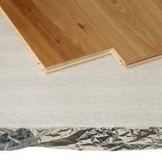Trojan Alufoil Silver Underlay x x Laying Laminate Flooring, Wooden Flooring, Floor Underlay, Underfloor Heating, Solid Wood, Silver, Home Decor, Laminate Flooring, Wood Flooring