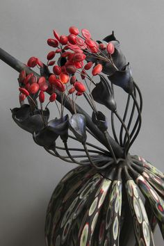 """Michael Sherrill """"Seaflower Julesvernium"""" detail"""