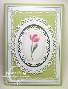 layout, 5 BY 7 - Floral Frames and Romantic Rectangles by Spellbinders