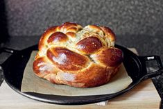Fig, Olive Oil, and Sea Salt Challah. Full recipe at: http://www ...