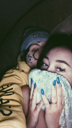 Lil Xan and Noah Cyrus