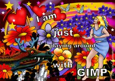 Playing with Gimp | by Viveca Lammers