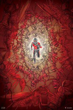 Ant-Man Created by  Sharm Murugiah