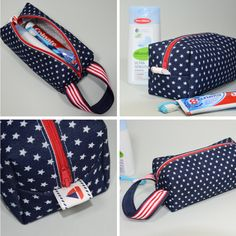 de la trousse de toilette - ultra facile et ultra rapide - Pikebou tuto de la trousse de toilette - ultra facile et ultra rapide - Pikeboututo de la trousse de toilette - ultra facile et ultra rapide - Pikebou Handbag Tutorial, Pouch Tutorial, Sewing Online, Beginner Sewing Patterns, Applique Fabric, Couture Sewing, Patchwork Bags, Pencil Pouch, Couture Facile