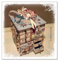 MatchBox Advent Calendar - Gunhild J G Bay