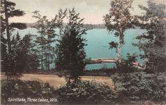 photos lakes wi three Vintage