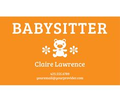 11 best printable business cards images on pinterest business card download this teddy bear sitter business card template and other free printables from myscrapnook fbccfo Image collections