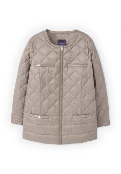 Пуховик, Violeta by Mango, цвет: бежевый. Артикул: VI005EWMDK99. Женская одежда / Верхняя одежда / Пуховики и зимние куртки