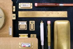 BRASS PRODUCTS | TRAVELER'S notebook & company