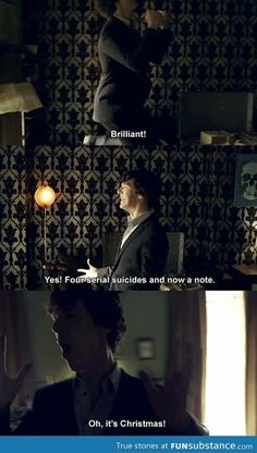 Just Sherlock Being Sherlock