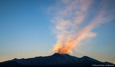 Mt. ETNA & summital craters @ sunset...