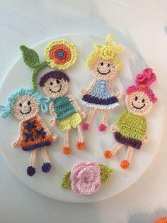 Crochet Motif Patterns, Baby Knitting Patterns, Crochet Cord, Crochet Lace, Crochet Crafts, Crochet Dolls, Baby Quiet Book, Puppet Patterns, Crochet Videos