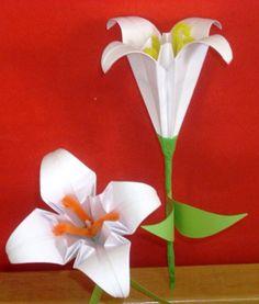 Origami κρίνοι-Ένας παραμυθένιος κόσμος