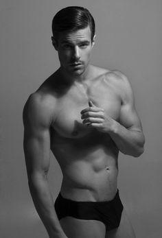 Male models and just hot guys. Most Beautiful Man, Gorgeous Men, Monochrome, Models Men, Top Models, Underwear Pics, Underwear Men, Shirtless Hunks, Bikini