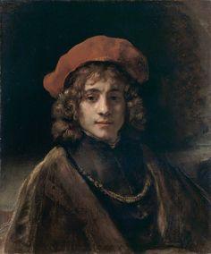 Rembrandt van Rijn (Dutch, 1606-1669) - Titus, the Artist's Son, 1657
