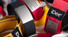 iDee As pulseiras de identificação, iDee, permitem identificar o seu utilizador, assim como possibilita ainda a inscrição de alguns elementos importantes no caso de necessidade de auxílio, ou mesmo de emergência médica como o grupo sanguíneo e contatos de pessoas próximas. Este produto é totalmente pe... http://hernanicardoso.pt/viagem/idee/