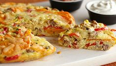 Breakfast Frittata with Sausage and Sweet Potatoes