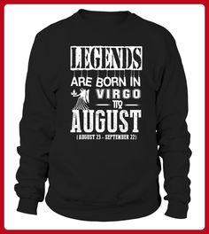 Legends are born in August Zodiac - Shirts für paare (*Partner-Link)