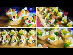 Carnival sandwiches - snacks with cream cheese Party Finger Foods, Party Snacks, Mushroom Tacos, Sandwiches, Chocolate Ganache Cake, Party Buffet, Canapes, Afternoon Tea, Sushi