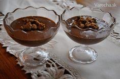Čokoládovo-amaretový puding (fotorecept) Punch Bowls, Ale, Ales