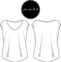 Free Burda pattern for T-shirt