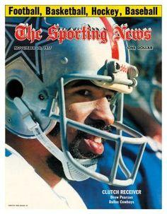 Dallas Cowboys WR Drew Pearson - November 26, 1977