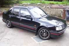 Peugeot 309 GTI, 1989 - 91. Fast, fun but a bit flimsy (though it never let us down), and interior trim was 'un peu fragile'. Made a couple of great trips to Italy in this. Odd styling! 1900cc, F199 DYA.