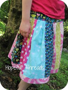 Hippy Chick skirt by Pink Fig