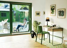 Swedish Prefab Home, Desk