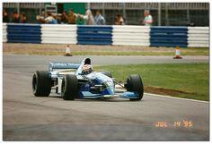 Andrea Montermini - 1995 - Pacific Grand Prix Racing - Pacific Ford PR02 F1 - British GP Silverstone