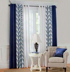 10 best navy curtains images living room blue curtains living rh pinterest com