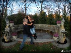 Amal & Steve's #engagement shoot at the Skylands New Jersey Botanical Garden! (photo by Dean Michaels Studio - www.deanmichaelstudio.com) #wedding #photography