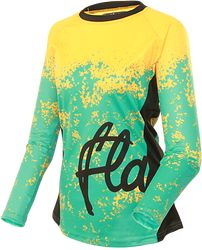 044eb93bd Roost Long Sleeved Jersey Teal Women s Cycling Jersey