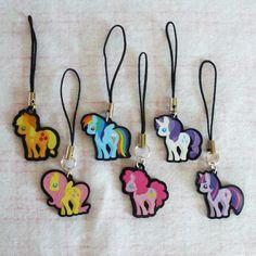 Mane 6 My Little Pony Charm Set, $30.00