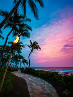 Setting the scene for a perfect Waikoloa evening!