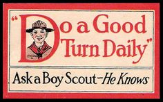 Do a Good Turn Scout Skit!