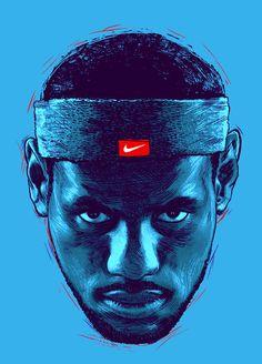 Nike by Alex Fuentes - Los Fokos, via Behance